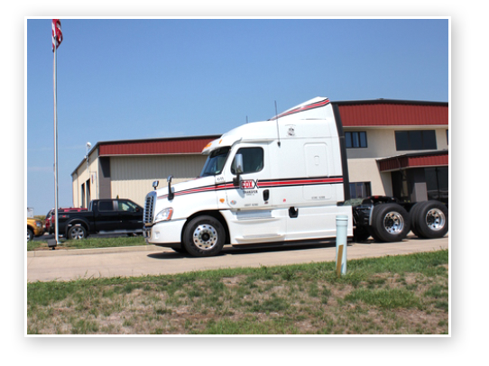 Cox Transfer Truck